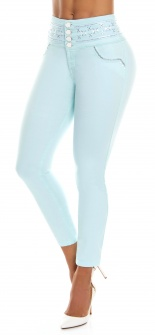 Jeans levanta cola WOW 86484 Azul