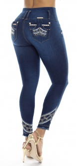 Jeans levanta cola WOW 86486 Azul