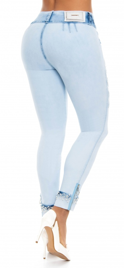 Jeans levanta cola WOW 86483 Azul