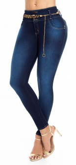 Jeans levanta cola WOW 86504 Azul