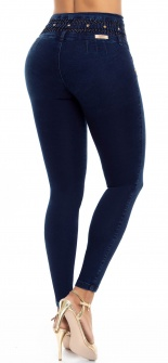 Jeans levanta cola WOW 86529 Azul