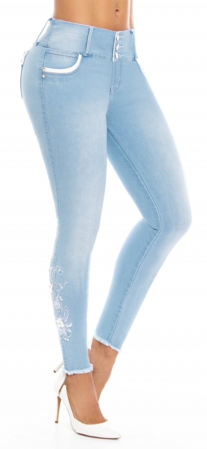 Jeans levanta cola WOW 86534 Azul