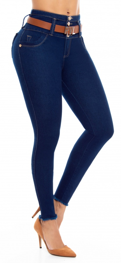 Jeans levanta cola WOW 86556 Azul