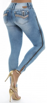 Jeans levanta cola WOW 86563 Azul