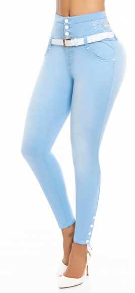 Jeans levanta cola WOW 86554 Azul