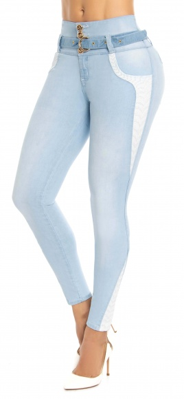 Jeans levanta cola WOW 86552 Azul
