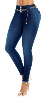Jeans levanta cola WOW 86549 Azul
