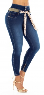 Jeans levanta cola LOWELL 5005 Azul
