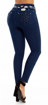 Jeans levanta cola WOW 86576 Azul