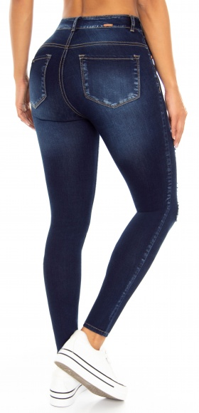 Jeans levanta cola WOW 86546 Azul